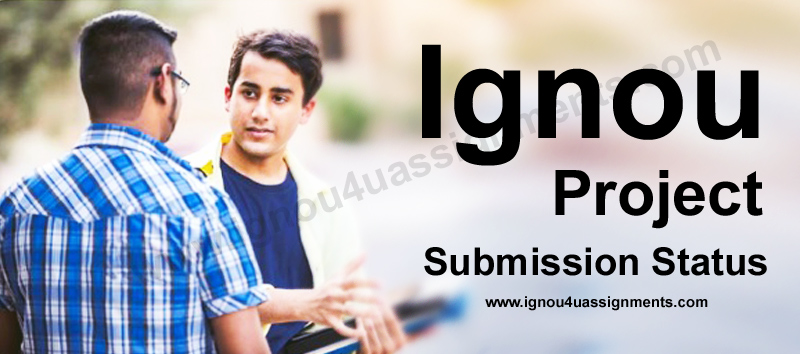 Ignou Project Approval Status
