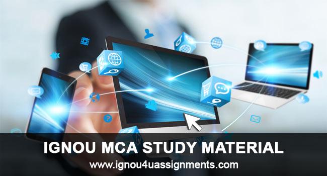 IGNOU MCA Study Material Free Download