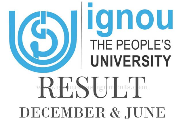 Ignou Result December & June