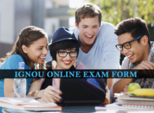 Ignou Online Exam Form