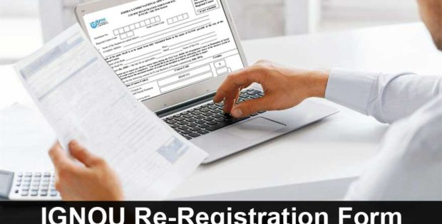 ignou online re-registration